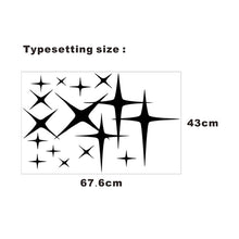 43*120CM 2x Star (one for each side) Graphic Camper Van RV Trailer Truck Motor Home Vinyl Graphics Kit Decals Car Door Stickers
