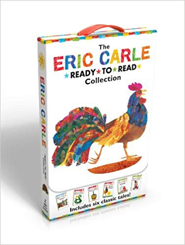 the-eric-carle-ready-to-read-collection:-have-you-seen-my-cat?;-the-greedy-python;-pancakes,-pancakes!;-rooster-is-off-to-see-the-world;-a-house-for-...-walter-the-baker-(the-world-of-eric-carle)
