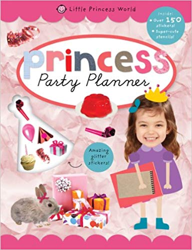 party-planner:-princess-sticker-books