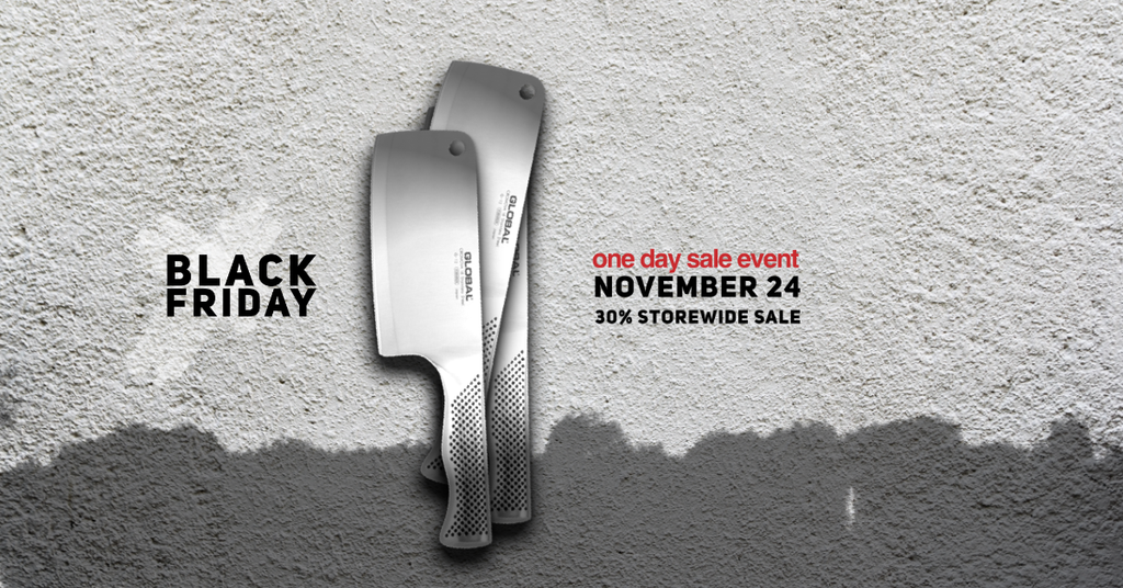 Black Friday Singapore — 30% Off Storewide Global® Knives