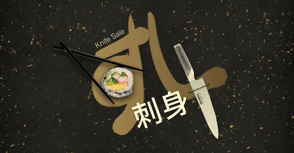 Global Knife Singapore Sushi & Sashimi Knife Sale