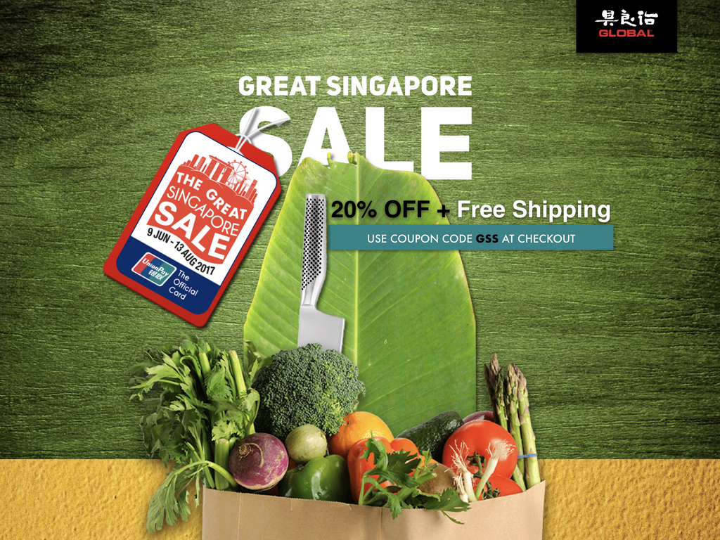 The Great Singapore Sale 2017 Global Knives Singapore
