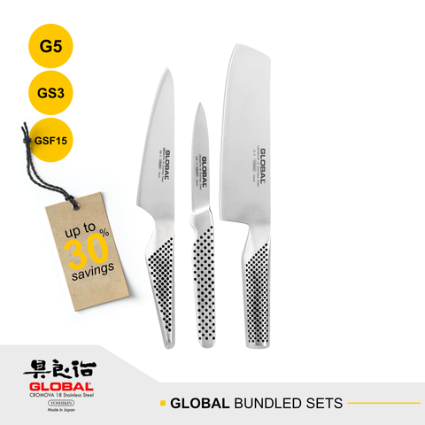 Global G-5, GS-3 & GSF-15 Bundled Sets
