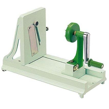 Benriner Horizontal Turning Slicer for Vegetable (Green)