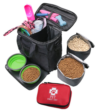 Pet Travel Bag with Pet First Aid Kit