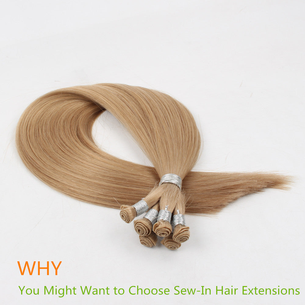 Why You Might Want to Choose Sew-In Hair Extensions