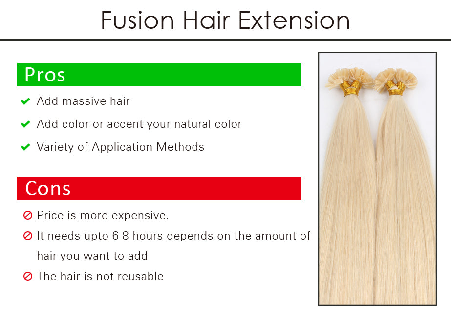 Hair Extensions Pros Cons Of Every Kind