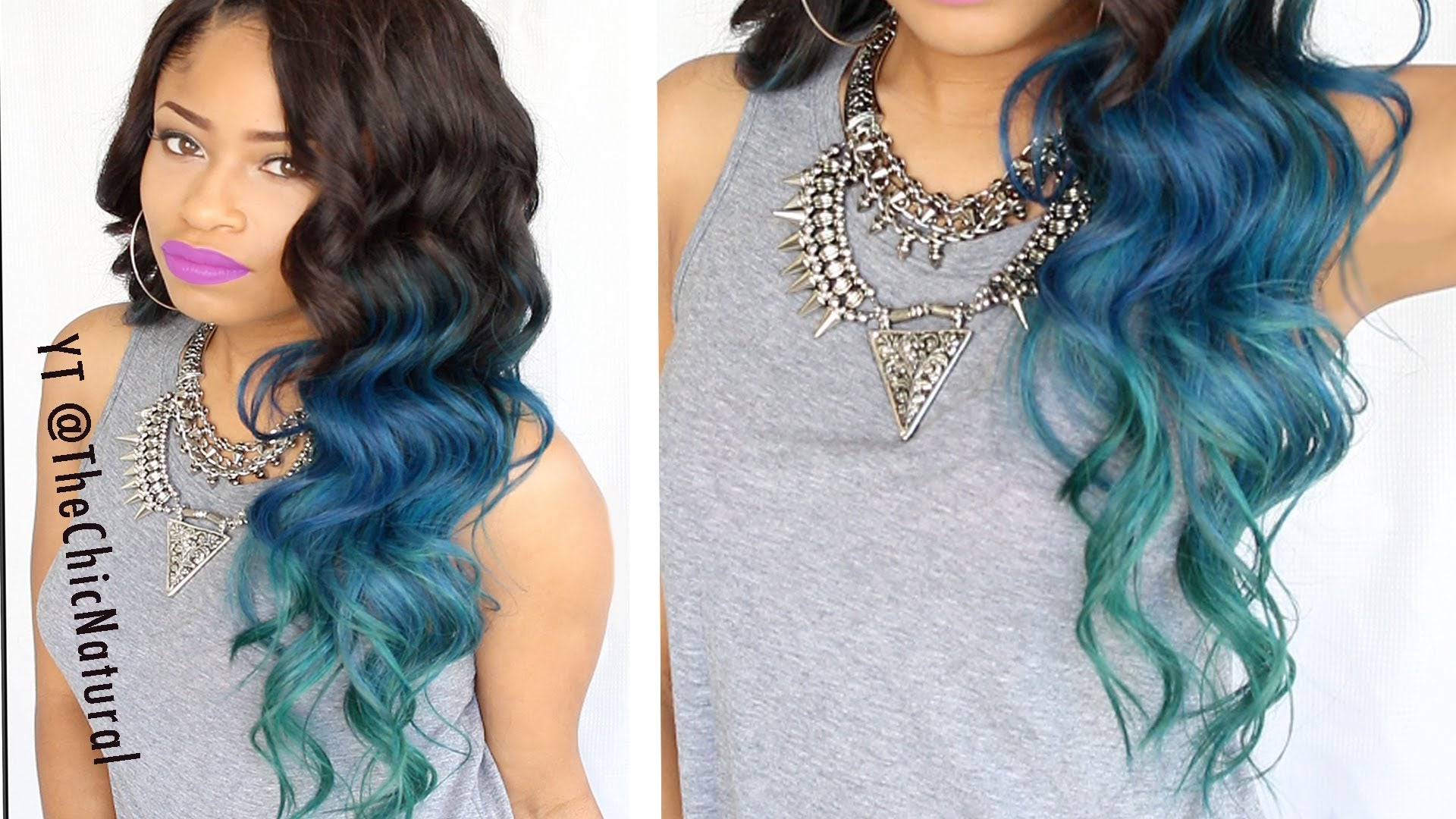 10 fun ombre hair color ideas for 2017 if youre not ready to commit to the blue consider blue clip in hair extensions to get the look without the permanence of bleach and blue hair dye pmusecretfo Gallery