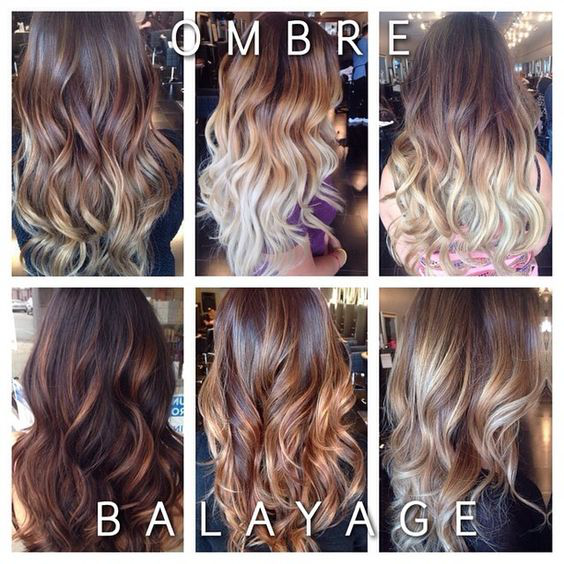 Ombre And Balayage Style Hair Extensions