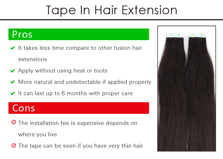 Hair extensions pros cons of every kind sew in extensions involve weaving wefts of hair into a narrow horizontal braid on the scalp the braid is the foundation of the extension and must be as pmusecretfo Gallery