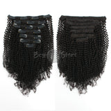 4C Afro Coily Clip In Hair Extensions