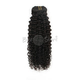 New Arrival Curly Texture Clip In Hair Extensions 100g/set Natural Color Jerry Curly Human Hair