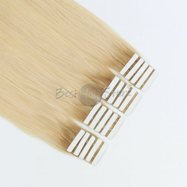 Rooted #12/60 Tape In Hair Extensions