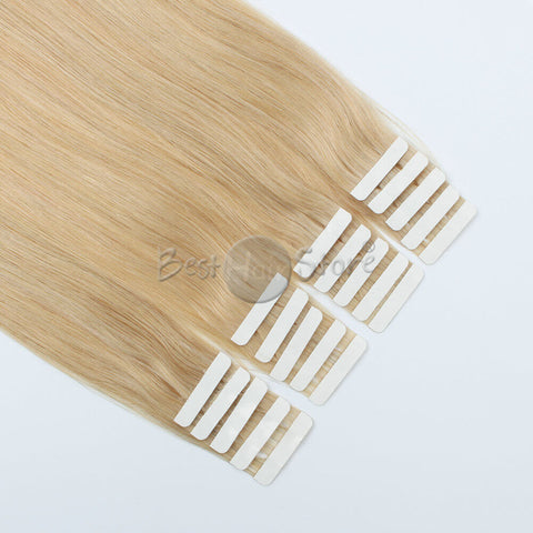 Honey Blonde #16 Tape In Hair Extensions