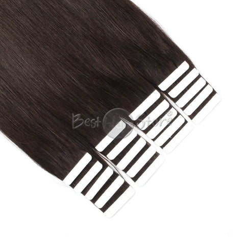 Off Black #1B Tape In Hair Extensions