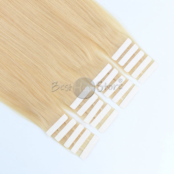 Golden Blonde #22 Tape In Hair Extensions