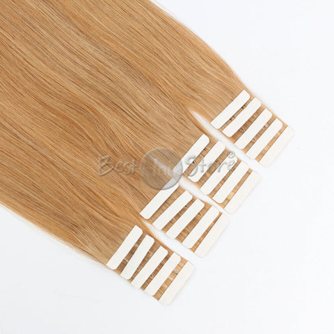 Strawberry Blonde #27 Tape In Hair Extensions