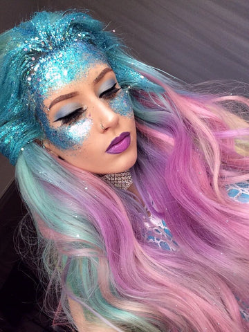 amy the mermaid unicorn look