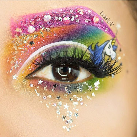 unicorn eye make up