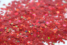 Strawberry Fields - Red Chunky Festival Glitter