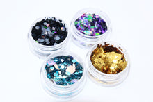 Cosmic Glitter Set - Chunky Face Glitter with Glitter Glue