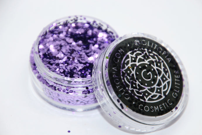 Lilac Purple Fine Cosmetic Face Glitter