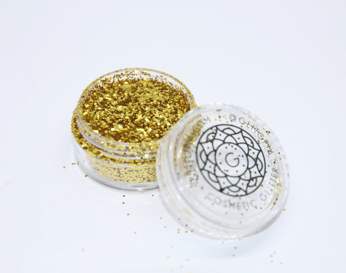 Ultra Fine Gold Cosmetic Face Glitter Dust