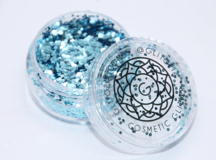 Baby Blue Fine Cosmetic Face Glitter