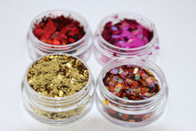 Sunset Glitter Set - Cosmetic Face Glitter with Glitter Glue