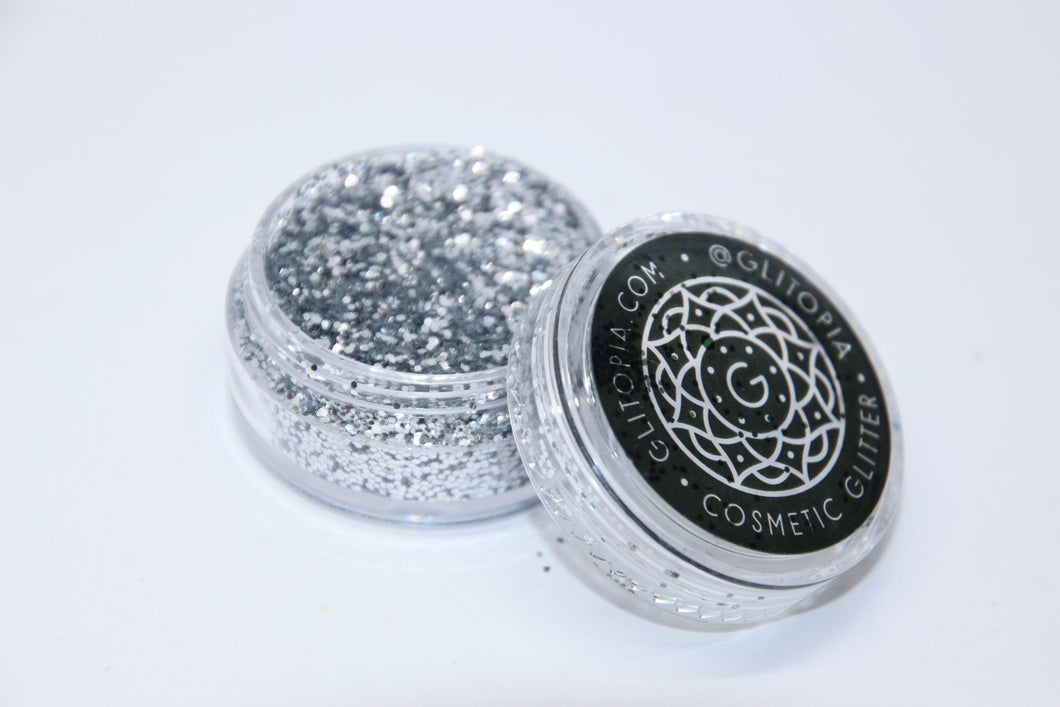 Ultra Fine Silver Cosmetic Face Glitter Dust