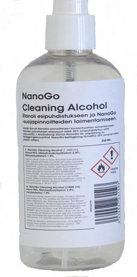 NanoGo Cleaning Alcohol 0,25L vahvasti denaturoitu