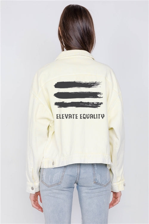 Elevate Equality Jean Jacket