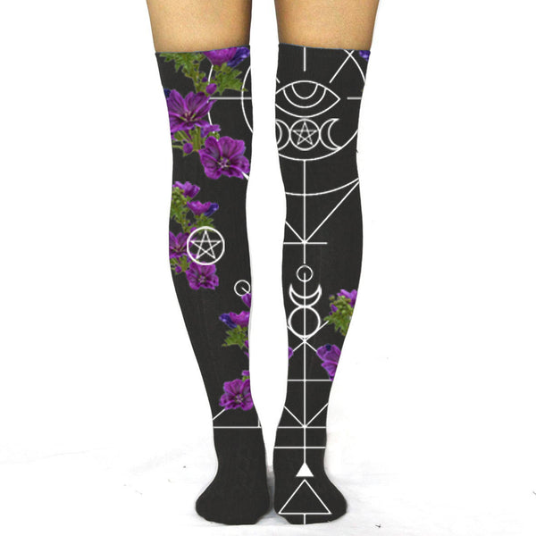Natural Magick Thigh High Socks