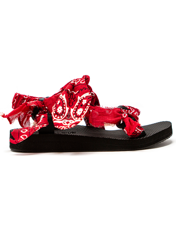 Arizona Love Trekky bandana-print flat sandals