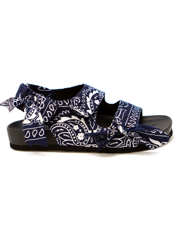Arizona Love Apache Navy bandana sandals