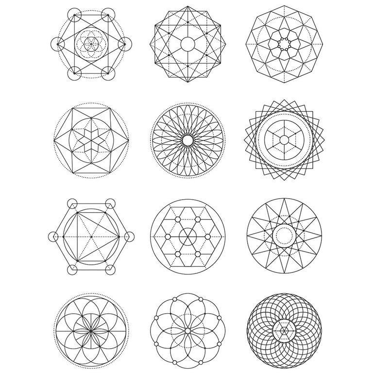 Sacred Geometry - Pack - ArtWear Tattoo