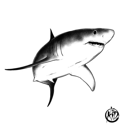 Shark - by Le Kid - ArtWear Tattoo