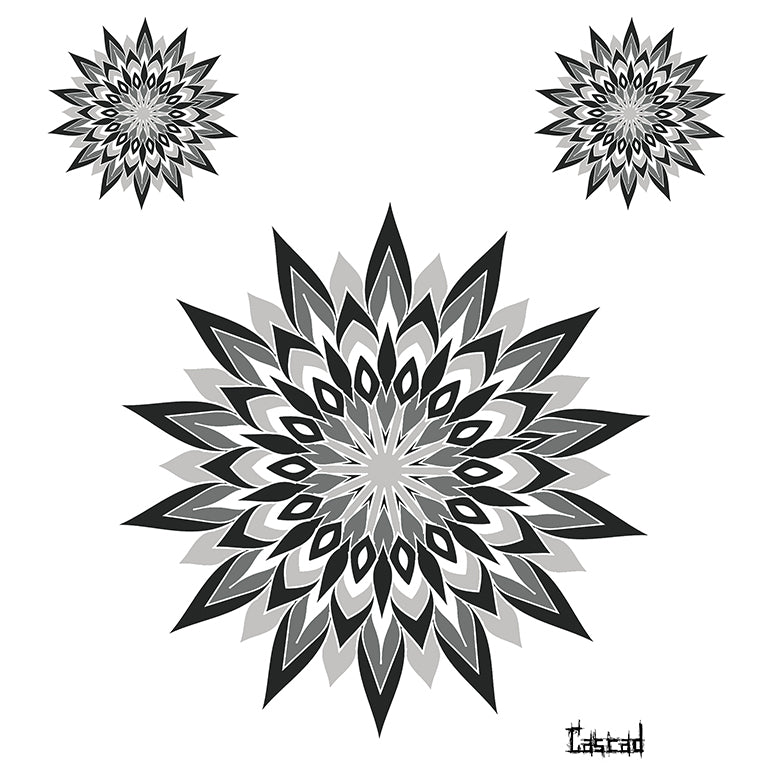 Mandala 5 - by CASCAD - ArtWear Tattoo