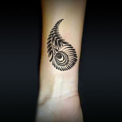 Tatouage éphémère : Designed Feathers - Pack - ArtWear Tattoo - Tatouage temporaire