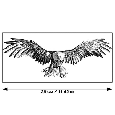 Tatouage éphémère : Big Eagle - ArtWear Tattoo - Tatouage temporaire