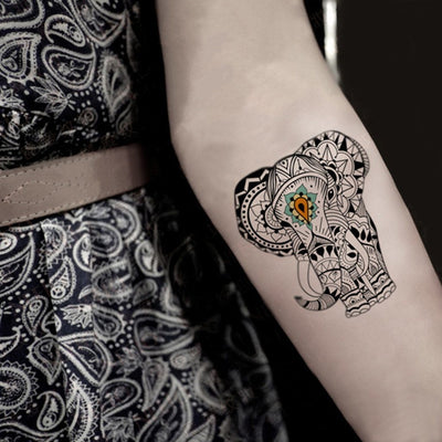 Elephants - ArtWear Tattoo