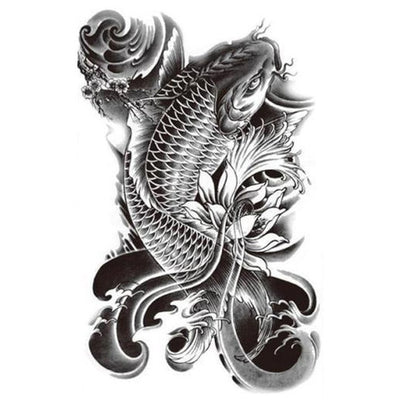 Koi Fish 1 - ArtWear Tattoo