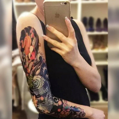 Koi Fish - Sleeve 4 - ArtWear Tattoo