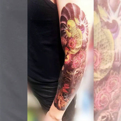 Koi Fish - Sleeve 6 - ArtWear Tattoo
