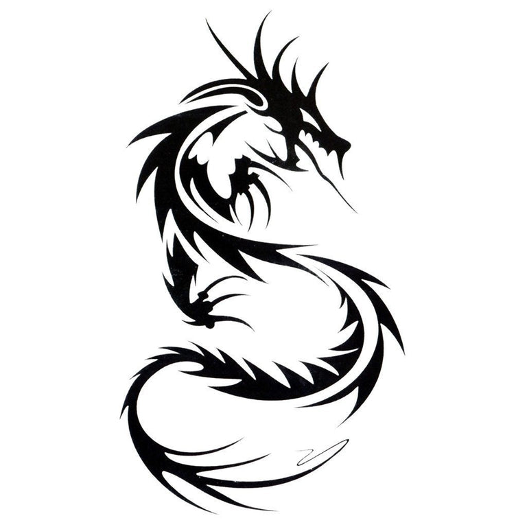 Tribal Dragon - ArtWear Tattoo