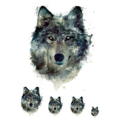 Animaux - Wolf Painting - Pack