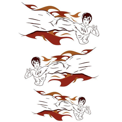 Bruce Lee 3D Pack - ArtWear Tattoo