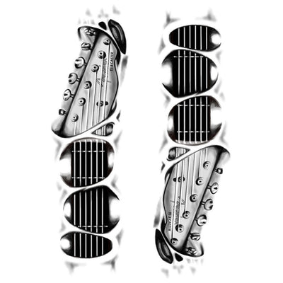 Guitar 3D - Pack - ArtWear Tattoo