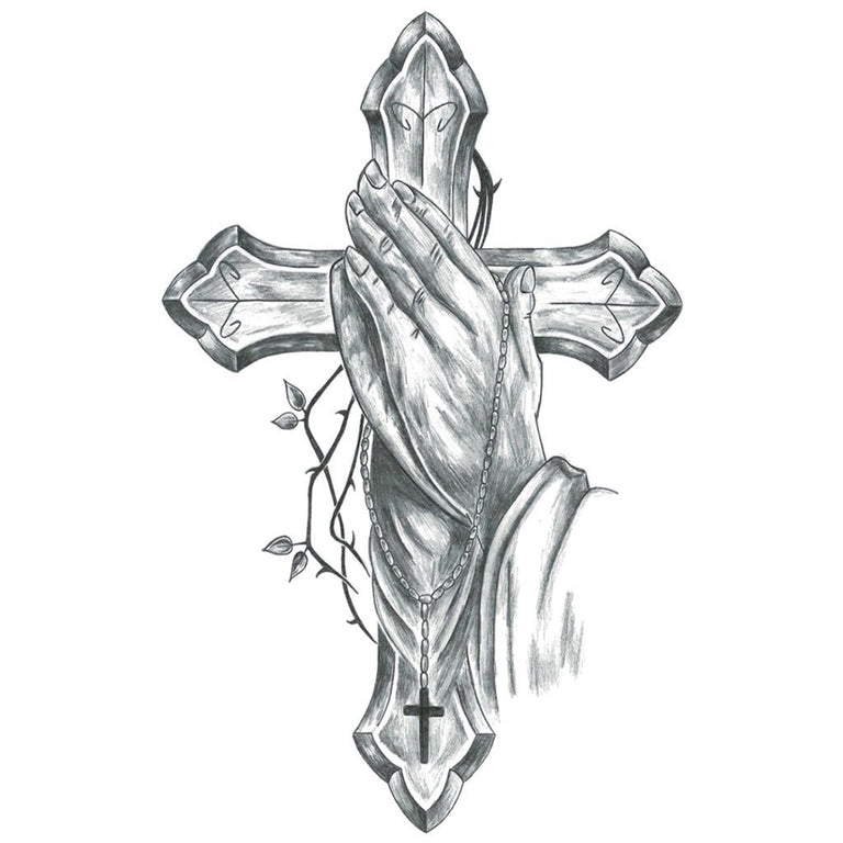 Christian Prayer - ArtWear Tattoo