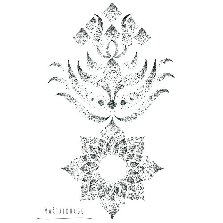Lotus - by MaâT - ArtWear Tattoo